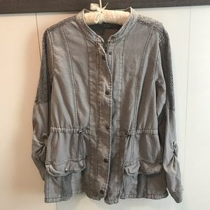 Maurices Jackets & Coats - Women's linen utility jacket
